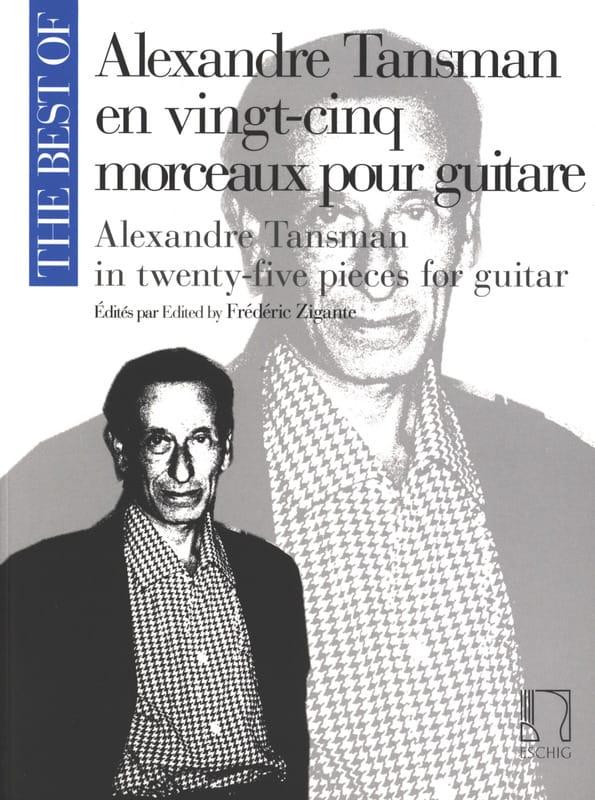 A. Tansman en 25 morceaux pour guitare - laflutedepan.com