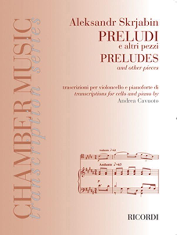 Préludes et autres pièces - SCRIABINE - Partition - laflutedepan.com