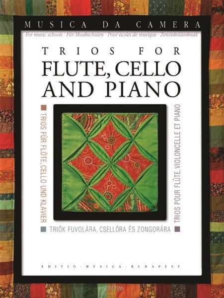 Trios pour Flûte, Violoncelle et Piano - laflutedepan.com