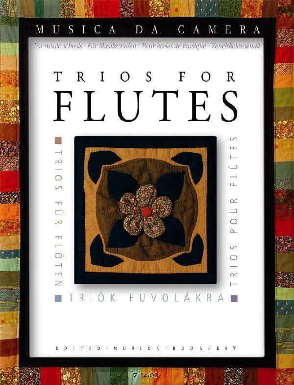 Trios pour Flûtes - Partition - laflutedepan.com