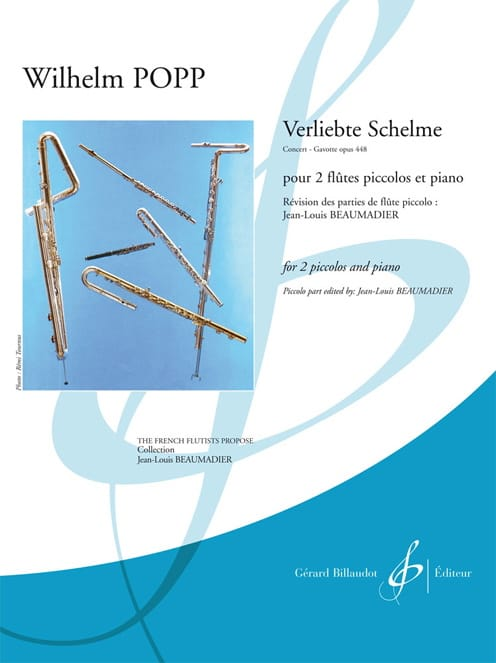 Verliebte Schelme, Concert-Gavotte op. 448 - laflutedepan.com