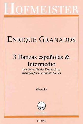 3 Danzas españolas & Intermedio - Enrique Granados - laflutedepan.com