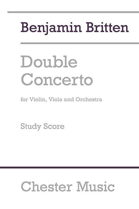 Double concerto pour violon, alto et orchestre 1932 - laflutedepan.com