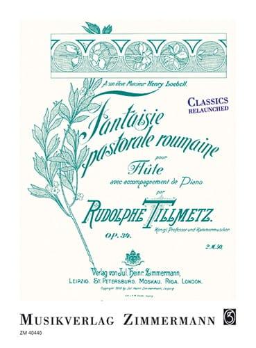Fantaisie pastorale roumaine, op.34 - laflutedepan.com