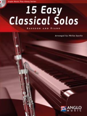 15 Easy classical solos - Partition - Basson - laflutedepan.com