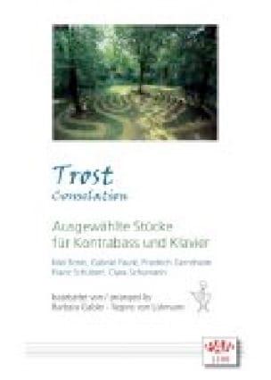 Trost Consolation - Partition - Contrebasse - laflutedepan.com