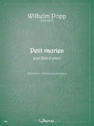 Wilhelm Popp - Petit Vaurien - Partition - di-arezzo.fr