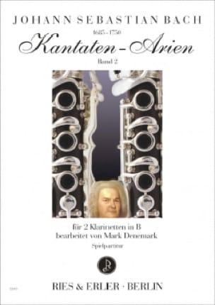 Kantaten-Arien Volume 2 - BACH - Partition - laflutedepan.com