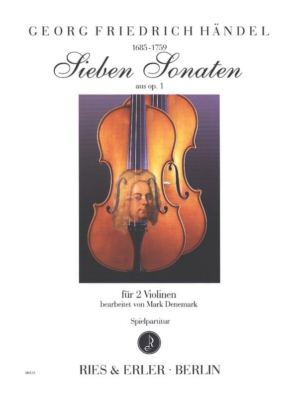 HAENDEL - 7 sonatas from opus 1 - Partition - di-arezzo.com