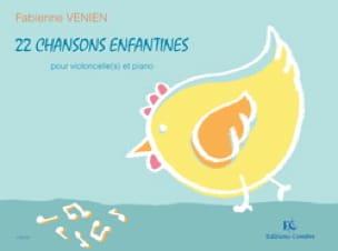 22 chansons enfantines - Fabienne Venien - laflutedepan.com