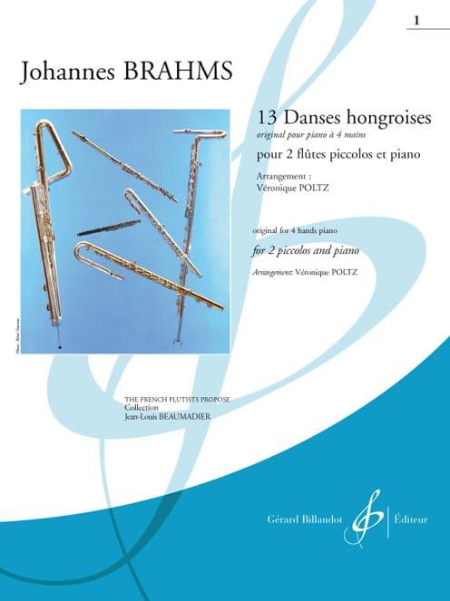 13 danses hongroises - Cahier 1 - BRAHMS - laflutedepan.com