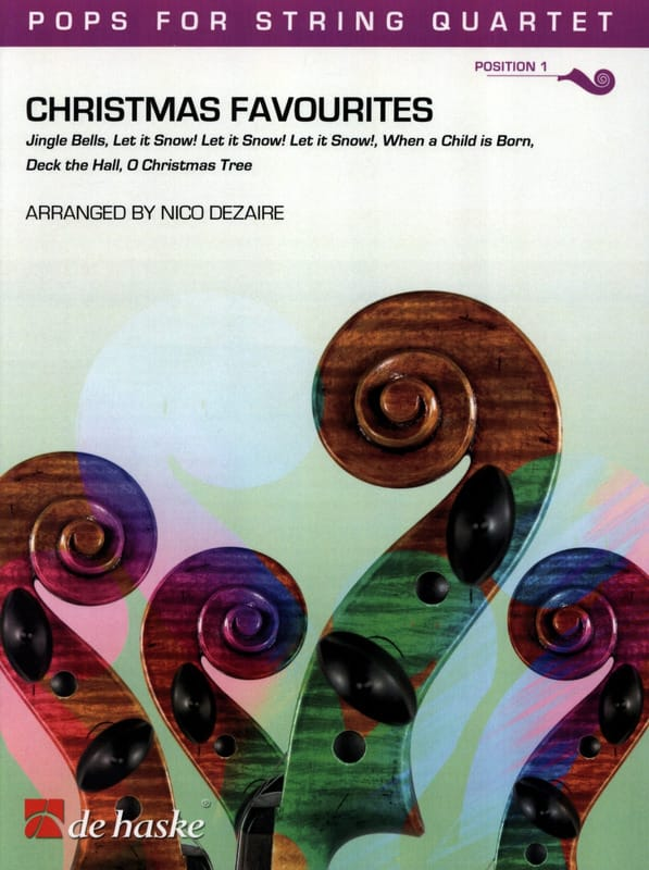 - Christmas Favorites - Pops for string quartet - Partition - di-arezzo.co.uk