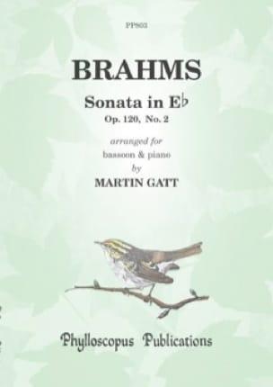 Sonate en mi bémol majeur, op. 120 n° 2 - BRAHMS - laflutedepan.com