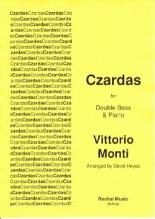 Czardas - Contrebasse et piano - Vittorio Monti - laflutedepan.com