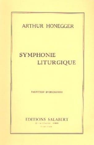 Arthur Honegger - Liturgical Symphony - Partition - di-arezzo.com