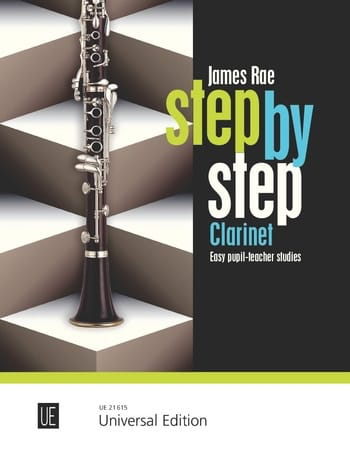 Step by Step - James Rae - Partition - Clarinette - laflutedepan.com