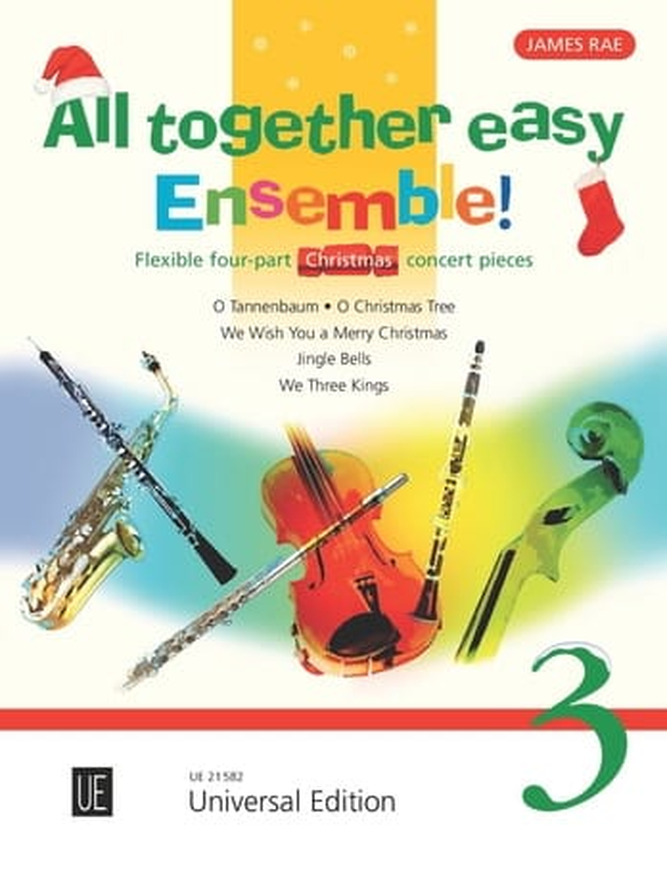All together easy Ensemble ! volume 3 - laflutedepan.com