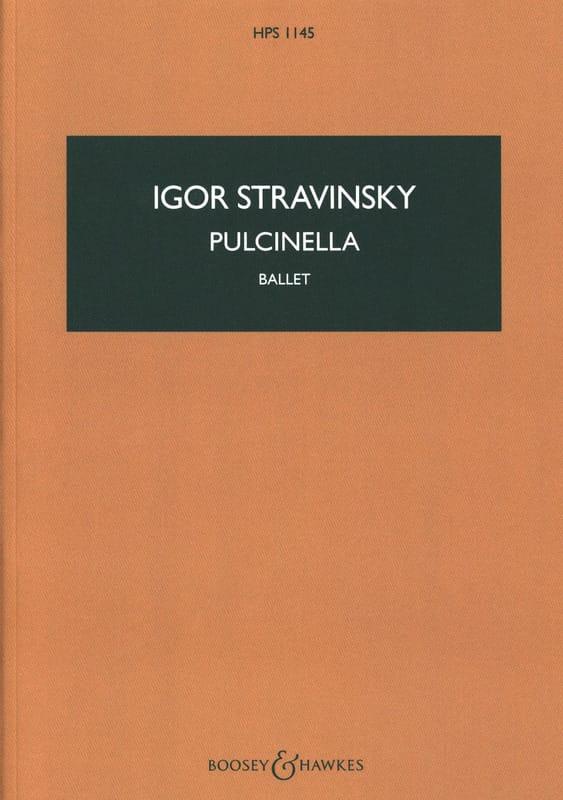 Igor Stravinsky - Pulcinella, Ballet - Partition - di-arezzo.fr