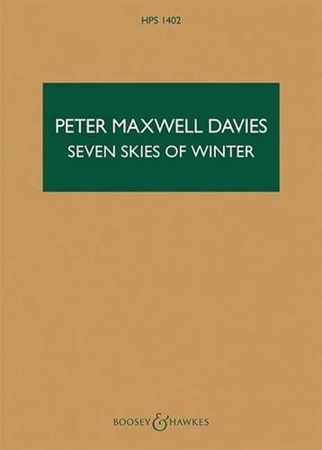 Seven Skies of Winter - Davies Peter Maxwell - laflutedepan.com