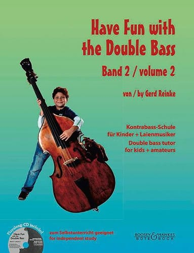 Gerd Reinke - Have Fun with the Double Bass, volume 2 - Partition - di-arezzo.fr