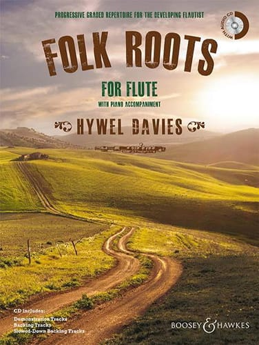 Folk Roots - Davies Hywel - Partition - laflutedepan.com