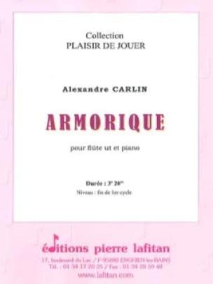 Alexandre Carlin - Armorica - Partition - di-arezzo.co.uk