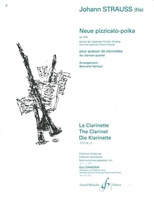 Neue pizzicato-polka - Opus 449 - laflutedepan.com