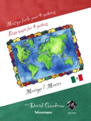 Musique Facile pour 4 Guitares : Mexique - laflutedepan.com