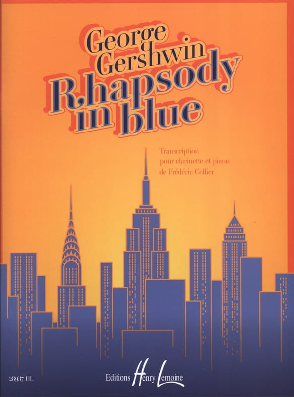 Rhapsody in blue - GERSHWIN - Partition - laflutedepan.com