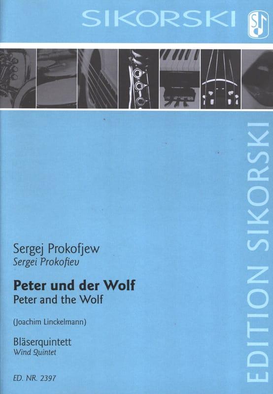 Pierre et le Loup - Quintette à Vents - PROKOFIEV - laflutedepan.com