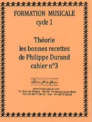 Philippe Durand - Theory, The Good Recipes, Volume 3 - Partition - di-arezzo.co.uk