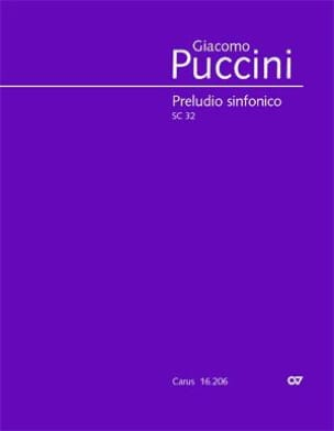 Giacomo Puccini - Preludio Sinfonico - Partition - di-arezzo.co.uk