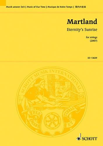 Eternity's Sunrise - Martland Steve - Partition - laflutedepan.com