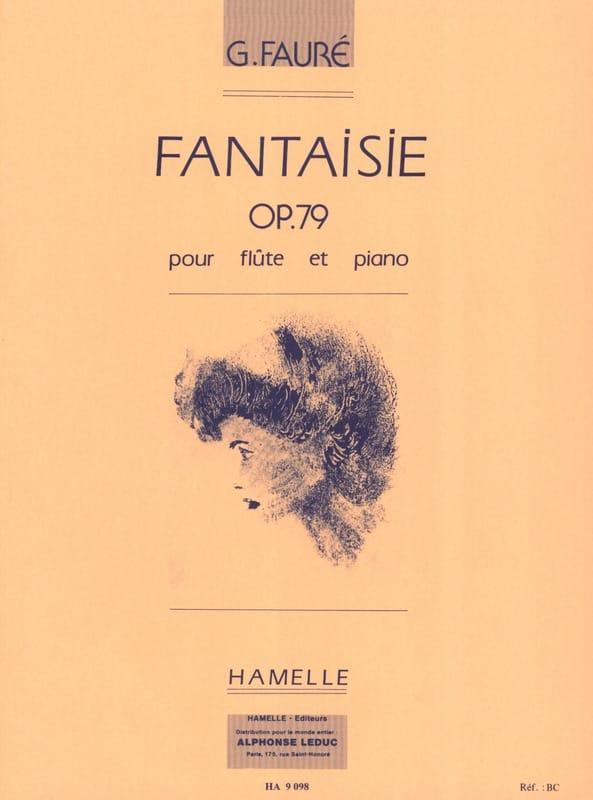 Gabriel Fauré - Fantaisie Op. 79 - Partition - di-arezzo.fr