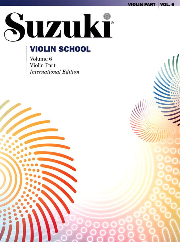 Suzuki - Violin School Vol.6 - Violin Part - Partition - di-arezzo.co.uk