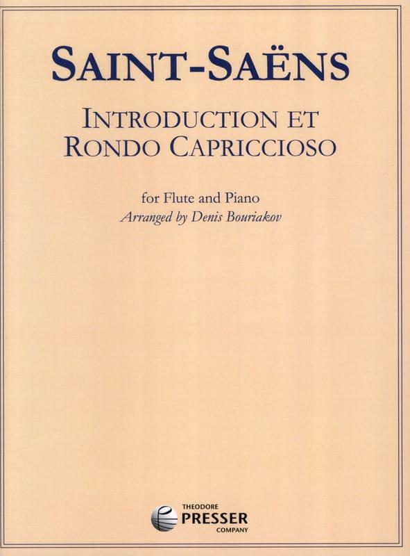 Camille Saint-Saëns - Introducción y Rondo Capriccioso - Partition - di-arezzo.es