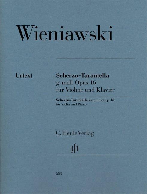 Scherzo -Tarantella en sol mineur op. 16 - laflutedepan.com