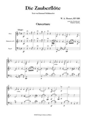 Die Zauberflöte Ouverture - Trio d'anches - MOZART - laflutedepan.com