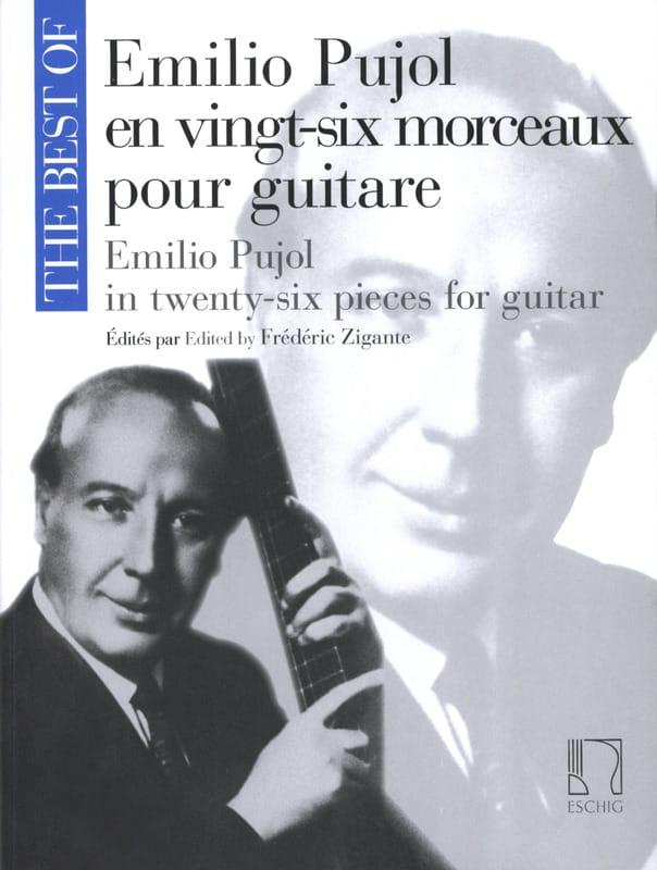 Emilio Pujol en Vingt-Six Morceaux pour Guitare - laflutedepan.com