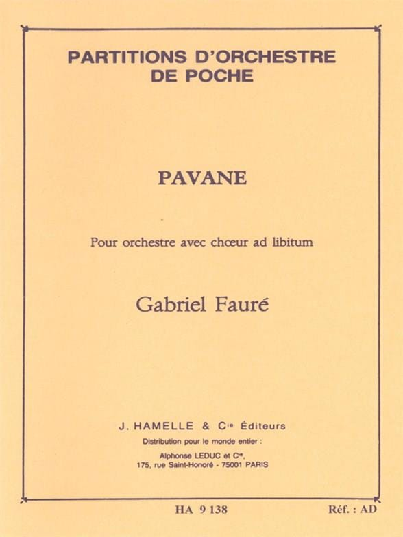 Gabriel Fauré - Pavane op. 50 - Driver - Partition - di-arezzo.co.uk