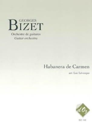 Habanera de Carmen - BIZET - Partition - Guitare - laflutedepan.com