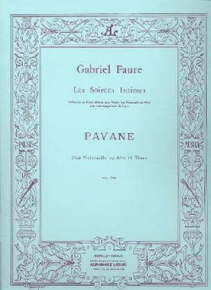 Gabriel Fauré - Pavane, op. 50 - Partition - di-arezzo.com