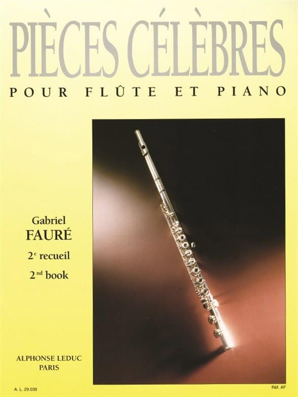 Gabriel Fauré - Famous Pieces - Volume 2 - Partition - di-arezzo.co.uk