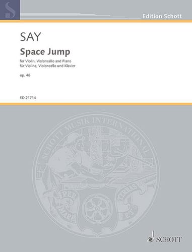 Space Jump - Fazil Say - Partition - Trios - laflutedepan.com