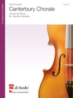 Canterbury Chorale - der Roost Jan Van - Partition - laflutedepan.com