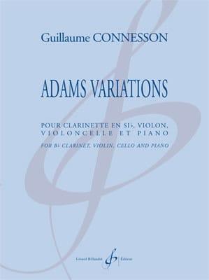 Adams Variations - CONNESSON - Partition - Quatuors - laflutedepan.com
