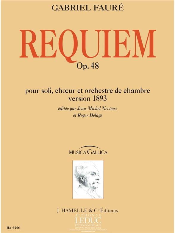 Gabriel Fauré - Requiem op. 48 - Version 1893 - Driver - Partition - di-arezzo.com