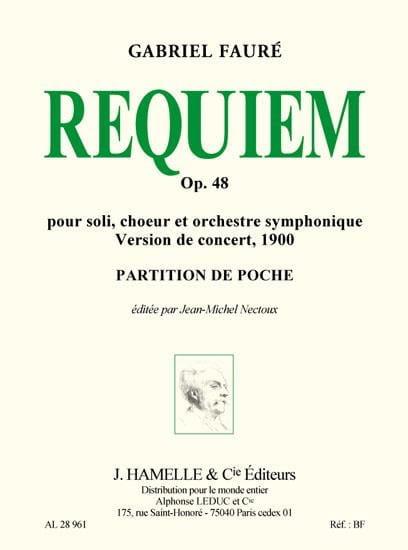 Gabriel Fauré - Requiem op. 48 - Version 1900 - Driver - Partition - di-arezzo.co.uk