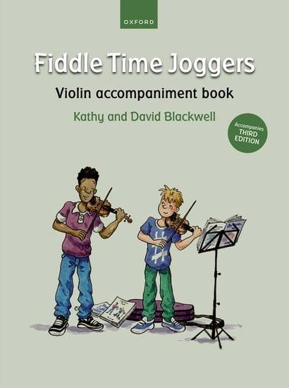 Fiddle Time Joggers - Violon accompaniment book - laflutedepan.com