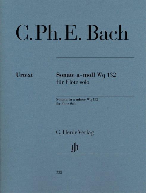 Carl Philipp Emanuel Bach - Sonata for flute in A minor Wq 132 - Partition - di-arezzo.com